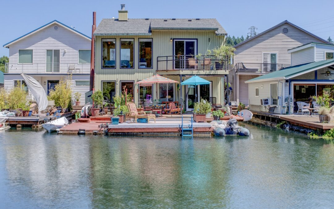 Everything You Could Want in a Floating Home & More!  $699,000